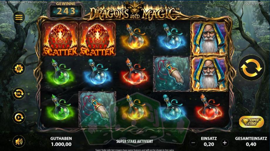 Dragons and Magic Titelbild