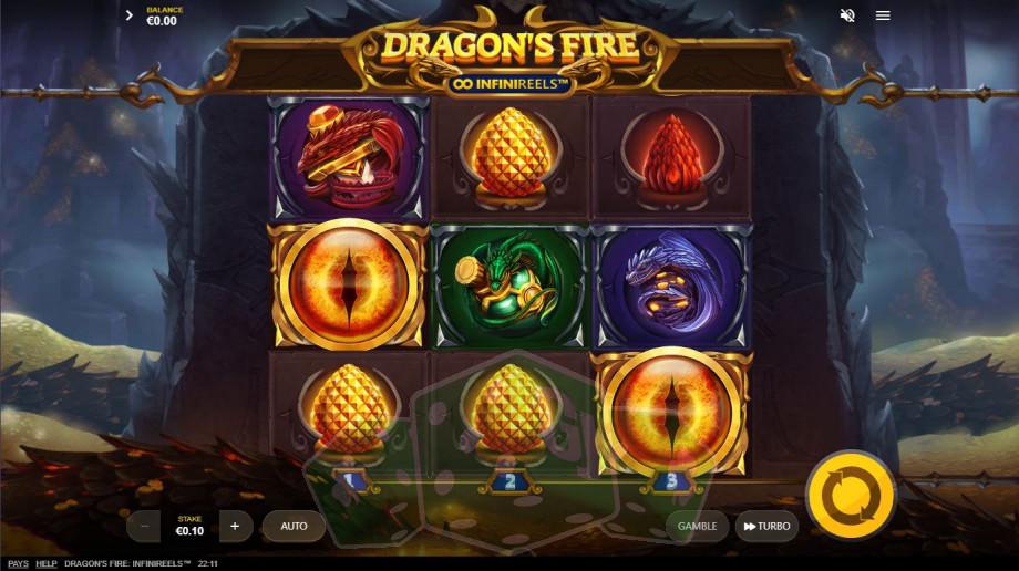 Dragon's Fire InfiniReels Titelbild