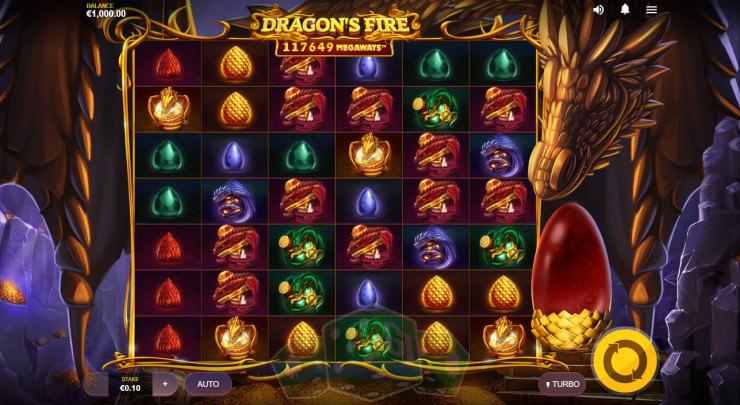 Dragon's Fire Megaways Titelbild