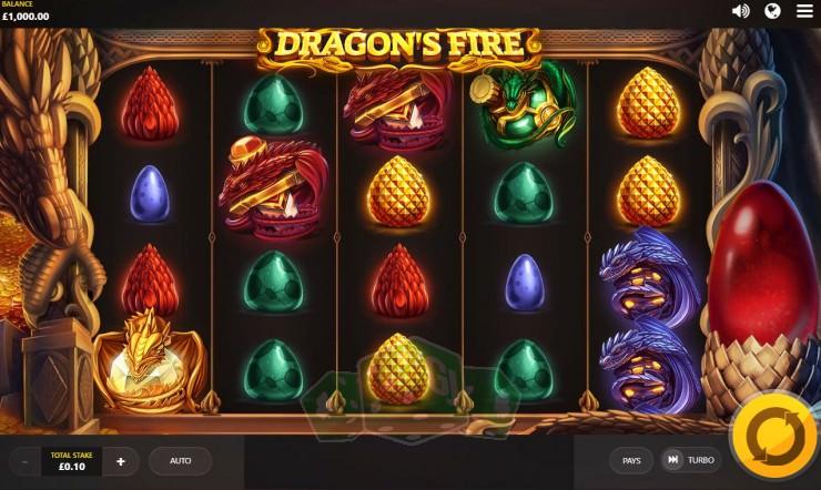 Dragon's Fire Titelbild