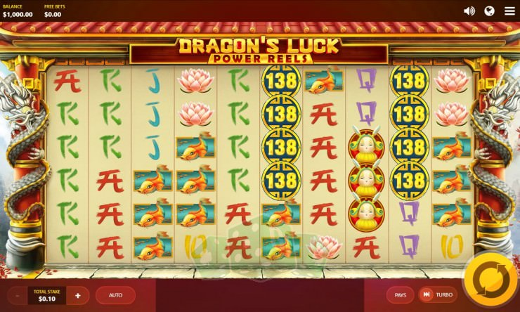 Dragons Luck Power Reels Titelbild