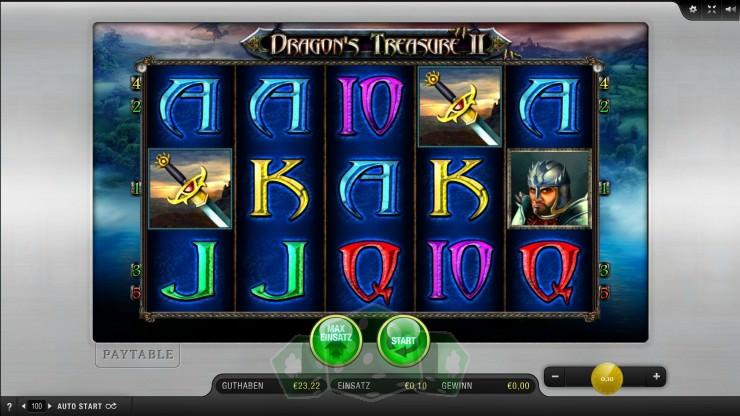 Dragon's Treasure II Titelbild
