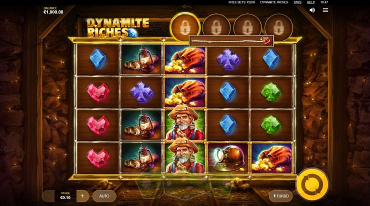Dynamite Riches Titelbild