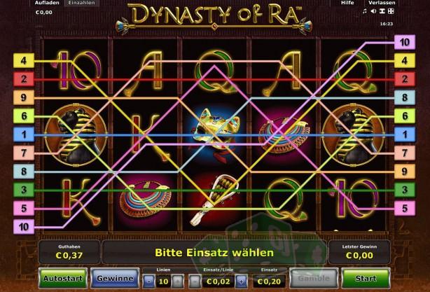 Dynasty of Ra Titelbild