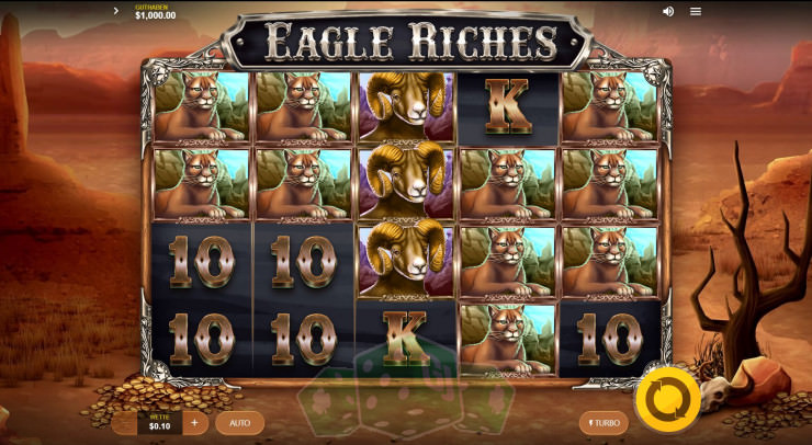 Eagle Riches Titelbild