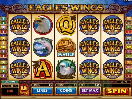 Eagles Wings Titelbild
