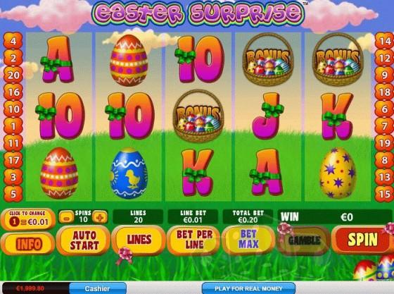 Easter Surprise: Online Spielen