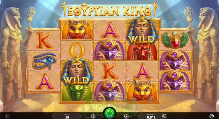 Egyptian King Titelbild