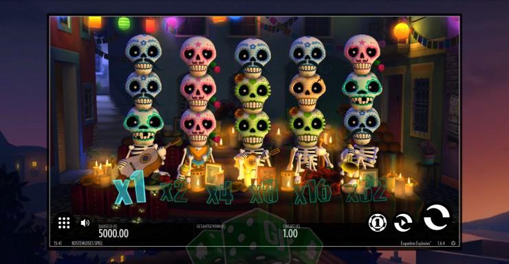 Esqueleto Explosivo Titelbild