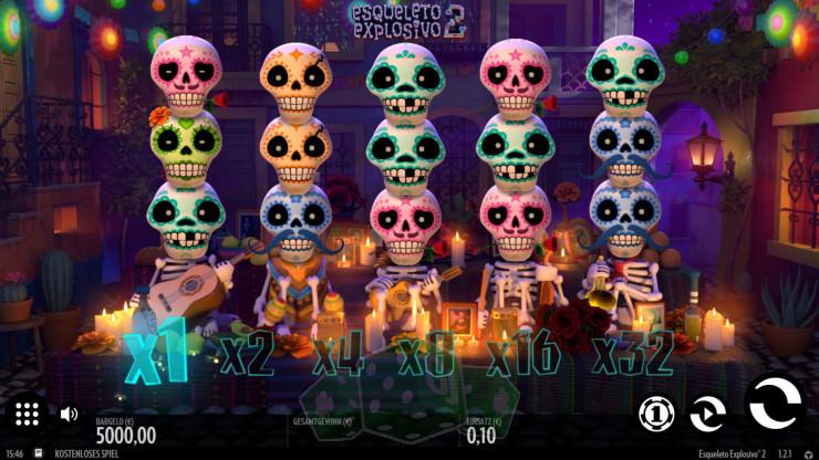 Esqueleto Explosivo 2 Titelbild