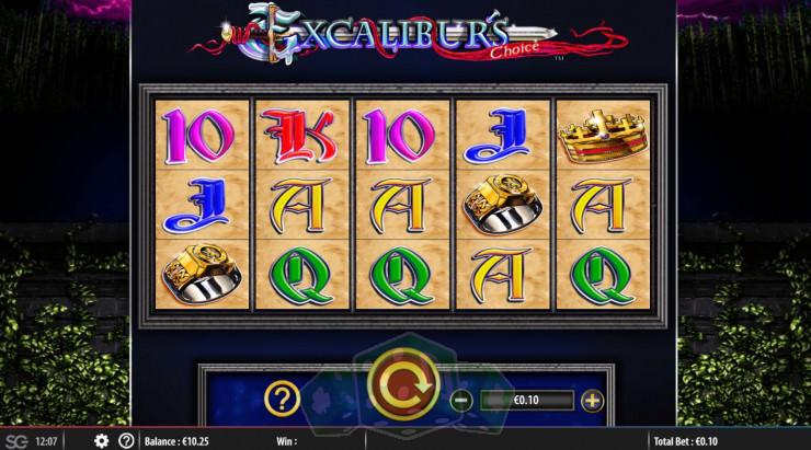 Excaliburs Choice Titelbild