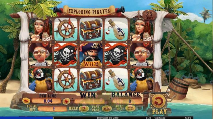 Exploding Pirates Titelbild