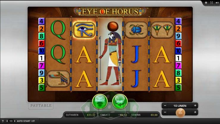 Eye of Horus Titelbild