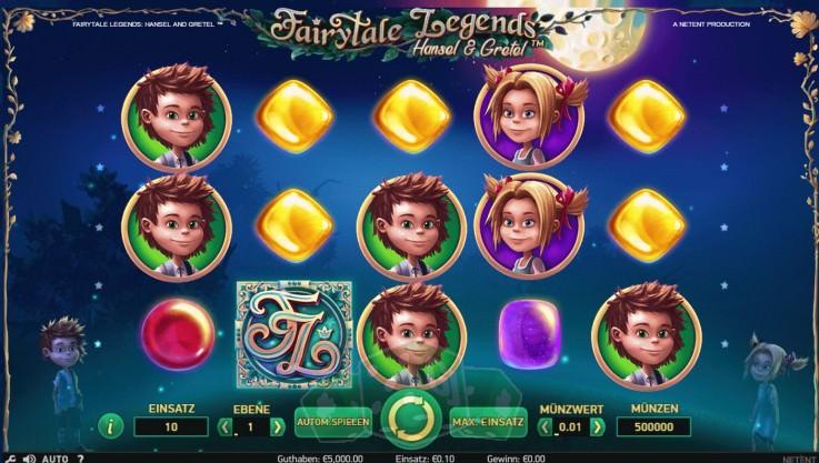 Fairytale Legends - Hansel & Gretel Titelbild