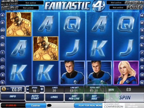 Fantastic 4 Titelbild