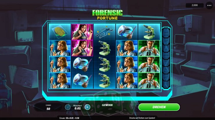 Forensic Fortune Titelbild