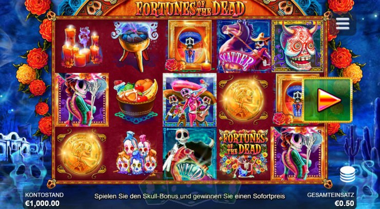 Fortunes Of The Dead Titelbild
