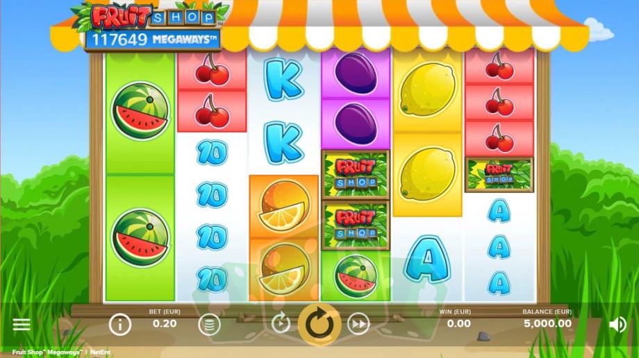 Fruit Shop Megaways Titelbild