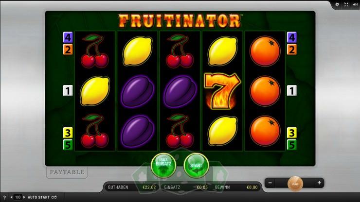 Fruitinator Titelbild