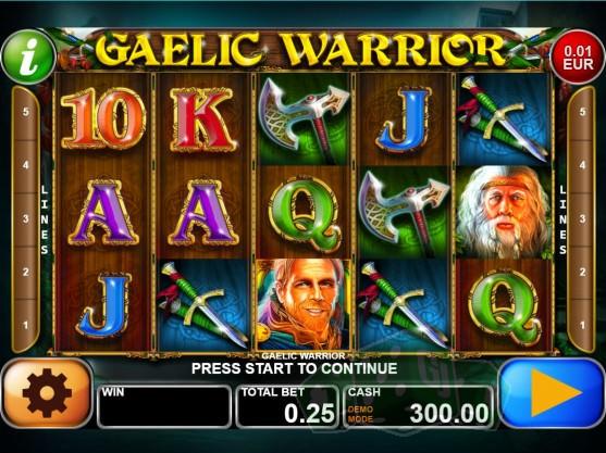 Gaelic Warrior Titelbild