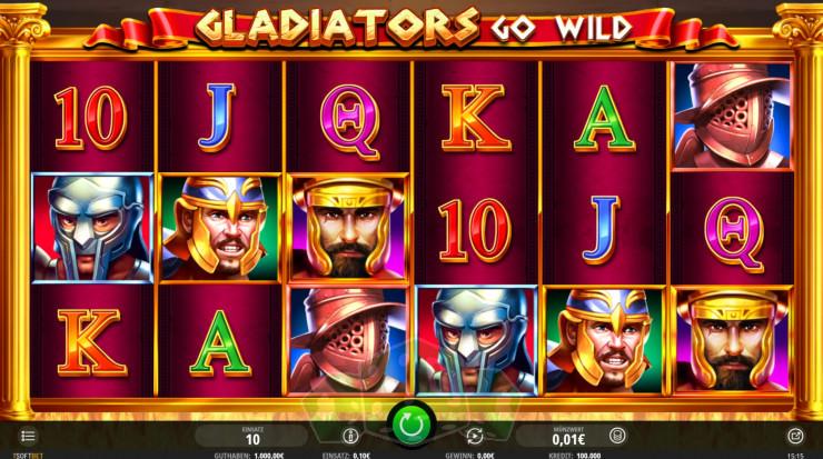 Gladiators Go Wild Titelbild