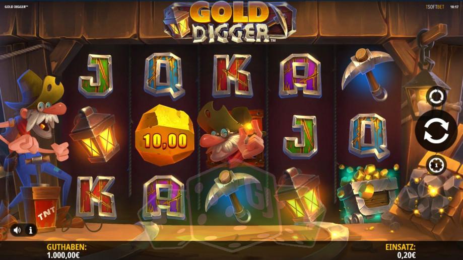 Gold Digger Titelbild