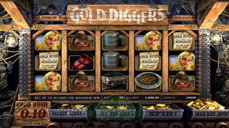 Gold Diggers Titelbild