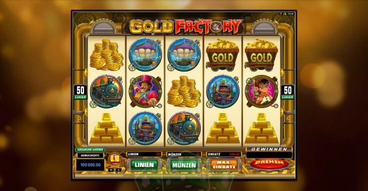 Gold Factory Titelbild