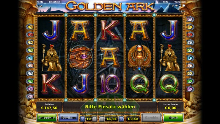 Golden Ark Titelbild