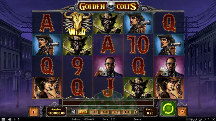 Golden Colts Titelbild