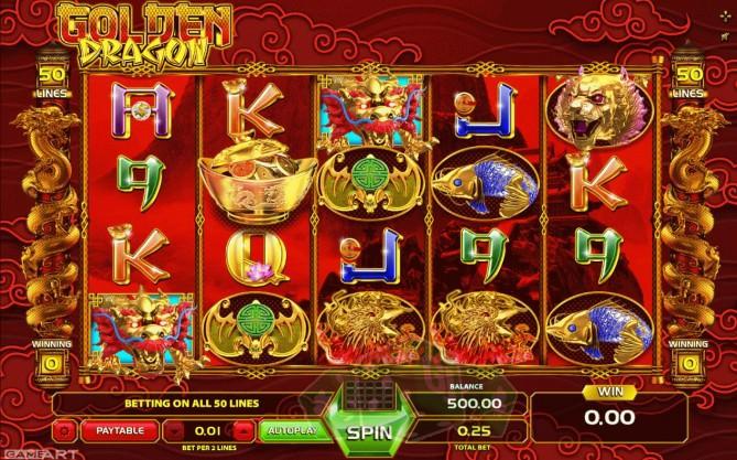 Golden Dragon Titelbild