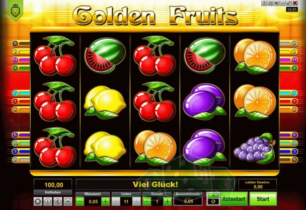 Golden Fruits Titelbild