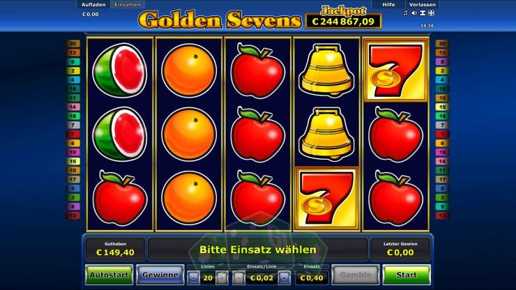 Golden Sevens Titelbild