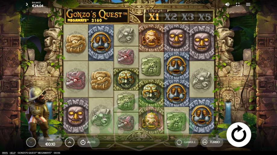 Gonzo's Quest Megaways Titelbild