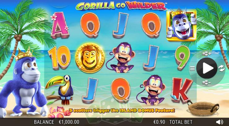 Gorilla Go Wilder Titelbild
