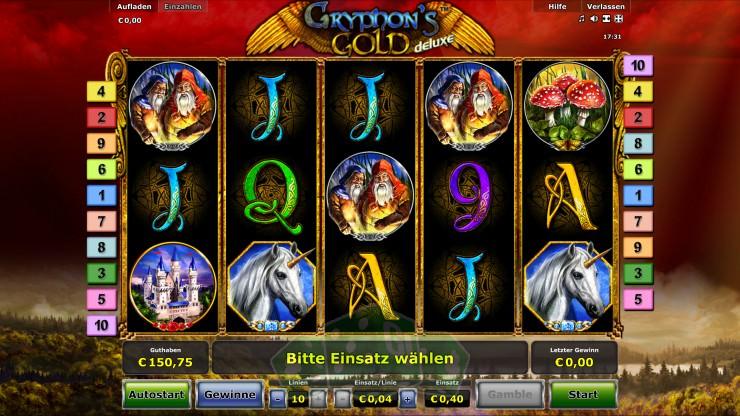 Gryphon's Gold Deluxe Titelbild