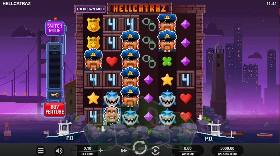 Hellcatraz Titelbild