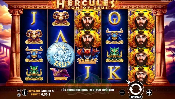 Hercules Son of Zeus Titelbild