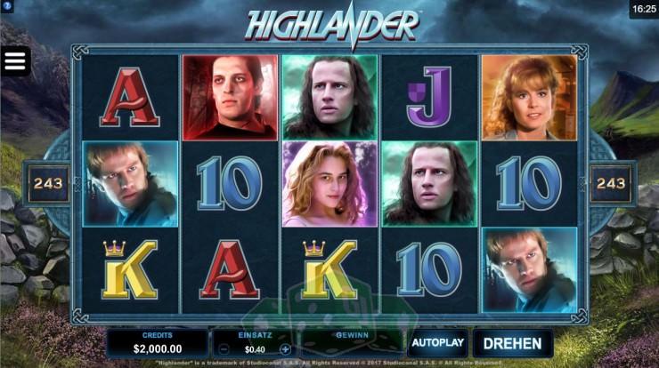 Highlander Titelbild