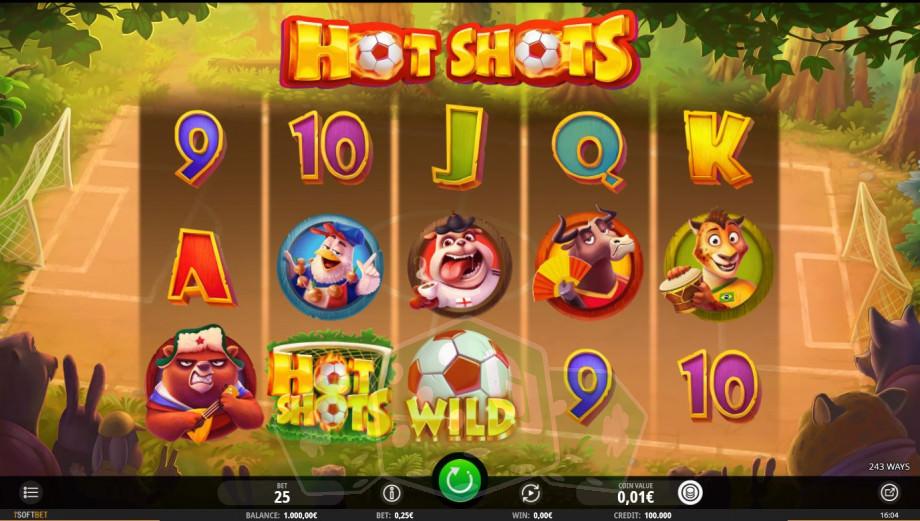 Hot Shots Titelbild