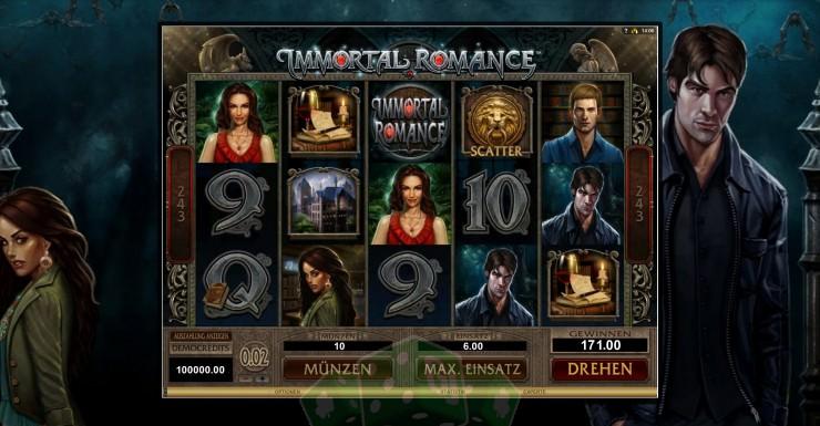 Immortal Romance Titelbild