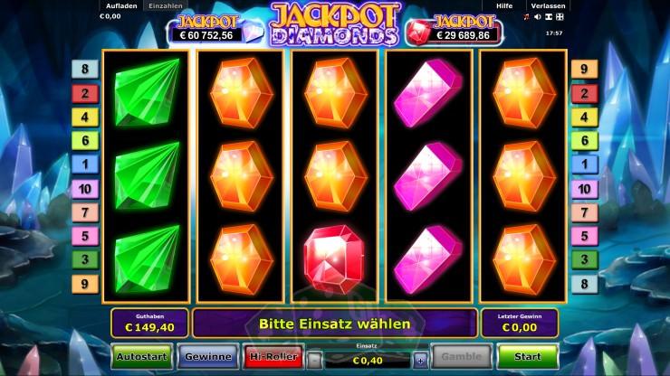 Jackpot Diamonds Titelbild