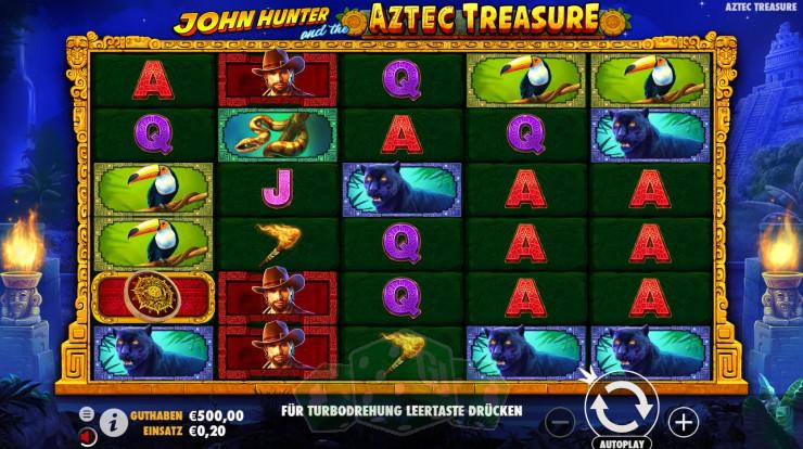 John Hunter And The Aztec Treasure Titelbild