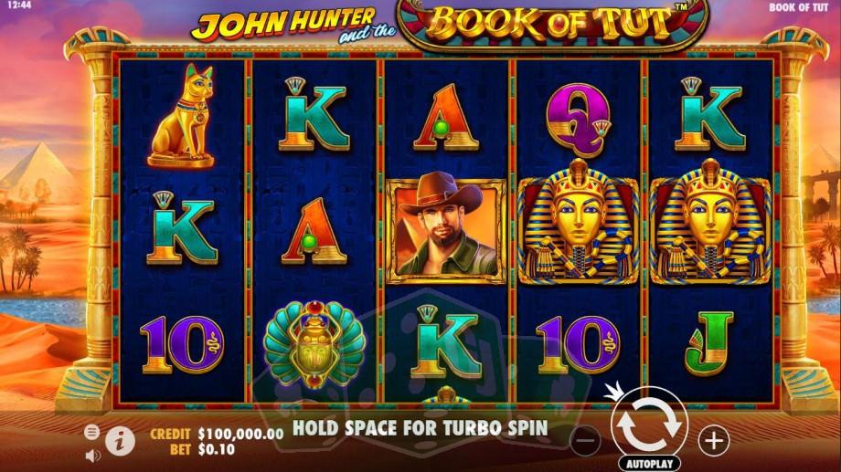John Hunter and the Book of Tut Titelbild
