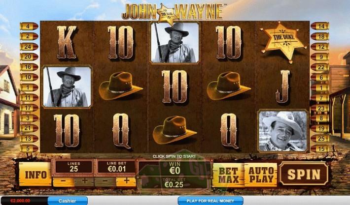 John Wayne Titelbild