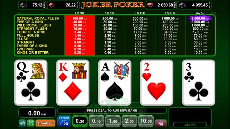 Jetzt Spielen Poker