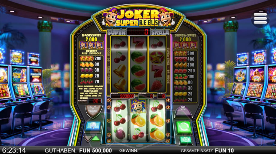 Joker Super Reels Titelbild