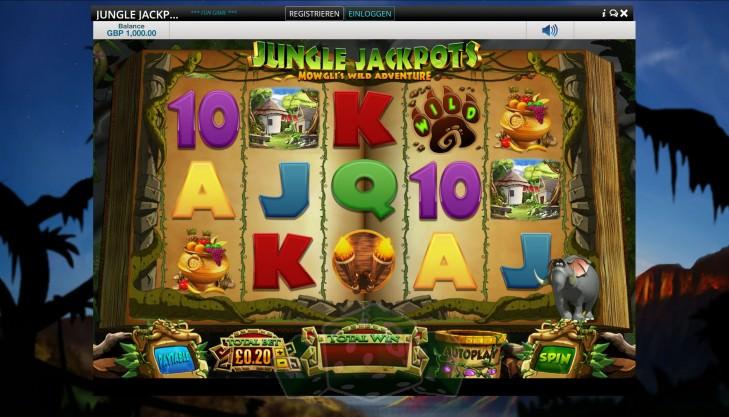 Jungle Jackpots Titelbild
