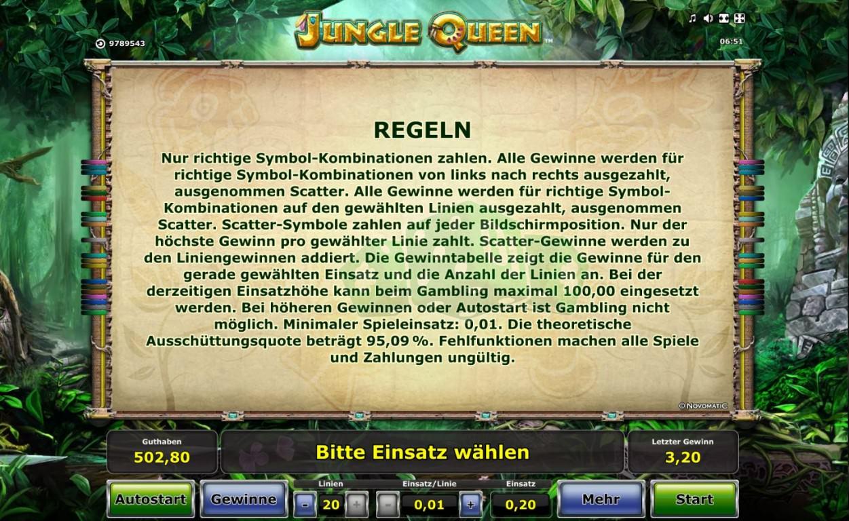 Novoline Jungle
