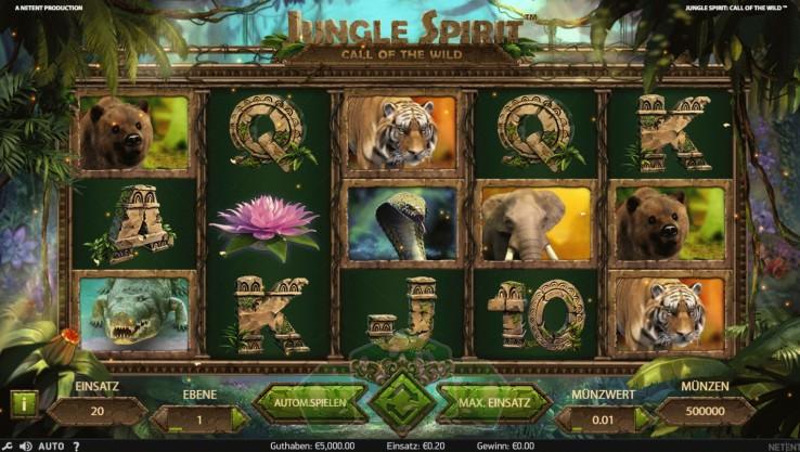 Jungle Spirit Titelbild